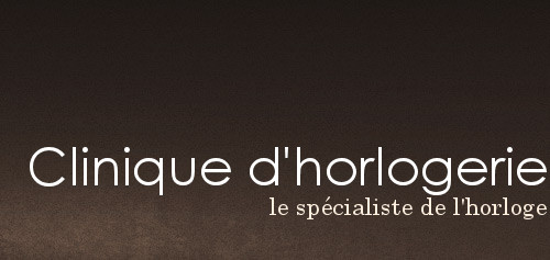 Clinique d'horlogerie